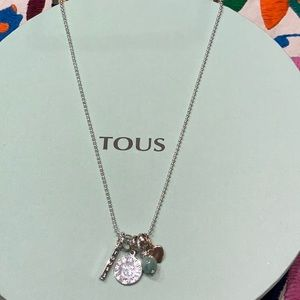 Tous Silver Necklace with charms